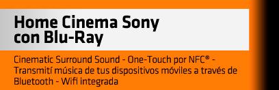 Home Cinema SONY con Blu-Ray
