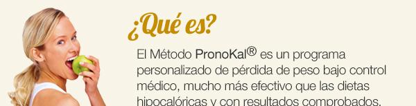 ¿Qué es? El método PromoKal© es un programa personalizado de pérdida de peso bajo control médico, mucho más efectivo que las dietas hipocalóricas y con resultados comprobados.
