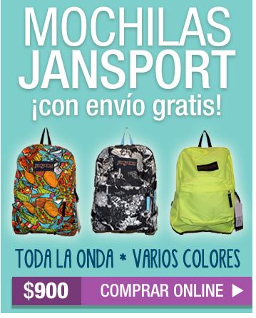 MOCHILAS JANSPORT SUPERBREAK - varios colores - CON ENVÍO GRATIS /// comprar ahora »