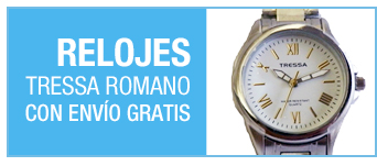 RELOJES TRESSA Romano | con envío gratis