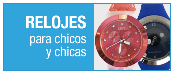 Relojes para chicos y chicas »