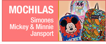 MOCHILAS | Simones · Mickey & Minnie · Jansport