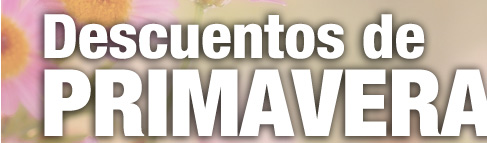 //// DESCUENTOS DE PRIMAVERA ////