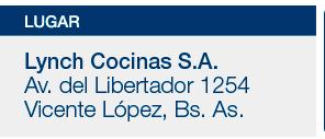 Lynch Cocinas S.A. - Av. del Libertador 1254, Vicente López, Bs.As.