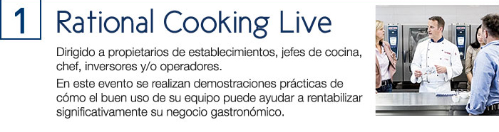 1) Rational Cooking Live
